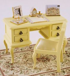 how to: desk set (with printables)