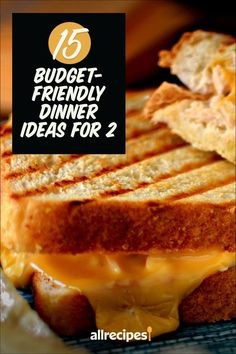 """20 Budget-Friendly Dinner Ideas for 2   """"The Allrecipes community of cooks has created dozens of budget-friendly recipes designed for just two people."""" #cheaprecipes #cheapmeals #budgetfriendly #budgetrecipes #frugalcooking #frugalmeals #cheapdinnerideas #cheap #budget #economical #frugal Cheap Vegan Meals, Cheap Recipes, Cheap Dinners, Dinner On A Budget, Dinner Ideas, Dinner Recipes, Frugal Meals, Budget Meals, Kimchi Fried Rice"""