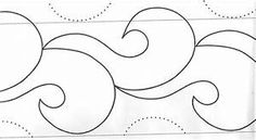 Pantographs Quilting. Pantograph Quilting Designs. Camille ...