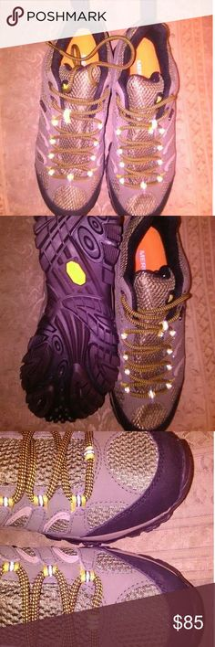 New Man Merrell hiking shoes size 8 This New no box or tags.Size 8.These go for $135 Great sturdy shoe. Merrell Shoes Athletic Shoes