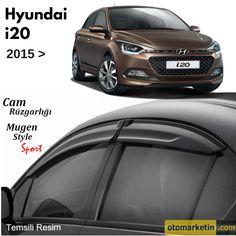 Hyundai i20 Mugen Cam Rüzgarlığı 2015- Uygun Fiyat Avantajı ile Otomarketin'den Satın Alın!