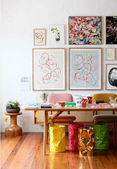 pop up shop by the design files on decor8blog! would love this to be my workspace!