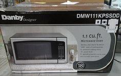 Danby Designer 1.1 cu.ft. Countertop Microwave, Stainless Steel #Danby