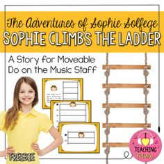 The Adventures of Sophie Solfege series was born out my need to make the abstract concept of placing solfege patterns on the music staff a little more concrete for younger students. My schools use moveable do, so I teach my students the relationships between the notes when they are placed on the music staff.