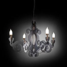 Barocco+lampadario+in+plexiglass