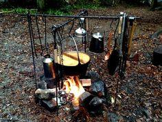 あらキャンプいいすね~。:★漆黒キャンプ場★