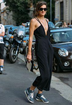 Street style: Tommy Ton in Paris - jumsuit