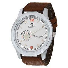 Lamkei L540 Stylish Brown Leather Analog Wrist Watch Lamkei, http://www.amazon.in/dp/B01D88FSN4/ref=cm_sw_r_pi_dp_BpZjxb00F6W0Z
