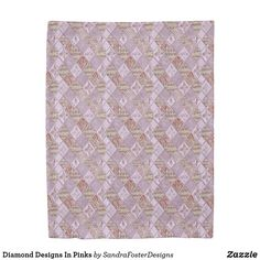 Shop Diamond Designs In Pinks Duvet Cover created by SandraFosterDesigns. Diamond Art, Diamond Design, Gift For Music Lover, Pillow Design, Decorative Pillows, Comforters, Design Art, Duvet Covers, Art Pieces
