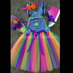 Check out this item in my Etsy shop https://www.etsy.com/listing/478925909/custom-girls-tmnt-denim-overall-tutu