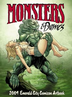 Monsters and Dames Artbook (cover),  by Frank Cho