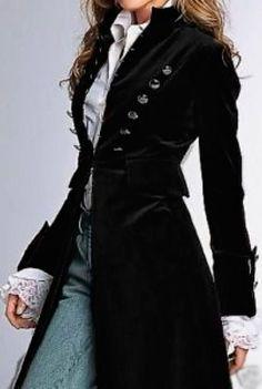 Оригинал взят у julianna_hor13 в Учимся элегантности у аристократии. (Часть 3) Первоначально длинный сюртук широкого покроя, изначально предназначался для верховой езды, (англ. riding coat, букв. сюртук для верховой езды). «Redingote» - это привычное звучание происходит из французского языка.… Modern Vintage Fashion, Trendy Fashion, Fashion Models, Womens Fashion, Style Fashion, Fashion Black, Vintage Style, Vintage Black, Classy Fashion