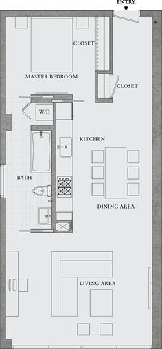 Excellent Image of Small Apartment Plans Layout . Small Apartment Plans Layout Great Simple Design Would Also Make A Great Rental Property 8 Layouts Casa, House Layouts, Garage Apartments, Small Apartments, Small Spaces, Studio Apartments, Small House Plans, House Floor Plans, Container Houses