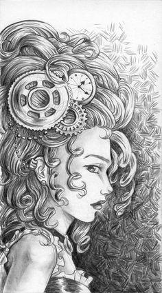 Steampunk Pencil by sallyt.deviantart.com on @deviantART