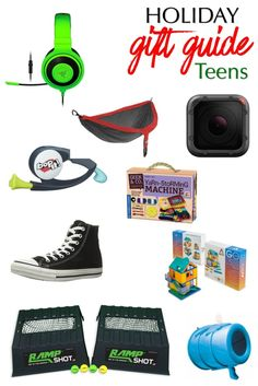Holiday Gift Guide for Teens