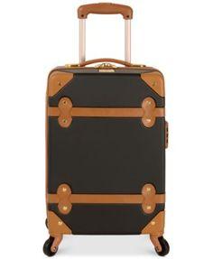 "Diane von Furstenberg Adieu 18"" Carry On Hardside Spinner Suitcase | macys.com"