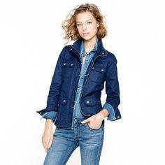 Nwt J crew field jacket 🙅trades🚫 Xs navy blue. Nwt J. Crew Jackets & Coats