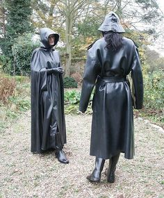 Raincoats For Women Stitches Info: 1794177386 Black Raincoat, Hooded Raincoat, Rain Cape, Rubber Raincoats, Plastic Raincoat, Heavy Rubber, Black Angels, Rain Gear