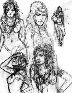 sketches: conan – becky cloonan