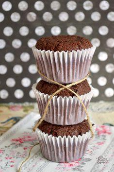 Muffins de Chocolate | CON HARINA EN MIS ZAPATOS