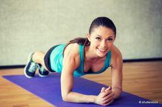 4 exercices de gainage au féminin  Lire la suite :http://www.sport-nutrition2015.blogspot.com