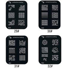 Beautiful Pattern Style Nail Art Stamping Image Template Plate – USD $ 1.19