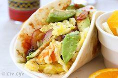 Super Soft California Breakfast Burrito #Breakfast #Burrito | elfsacks