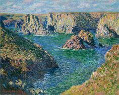 Claude Monet - Port Donnant, Belle Ile, 1886