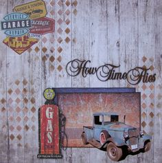 KaiserCraft - Garage Days Collection Man Office, Scrapbook Pages, Scrapbooking, Projects To Try, Garage, January 2016, Prints, Painting, Layouts