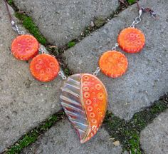 Faux Ceramic Polymer Jewelry BarbLessensunnydesignsjewelry Facebook and Websites