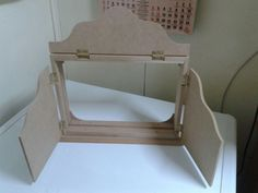 Cuenta cuentos Reuse, Magazine Rack, Cabinet, Mirror, Storage, Table, Furniture, Home Decor, To Tell