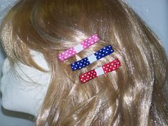 Kids Hair Clips Childrens' Hair Clips Girls Hair by HairBowAplenty