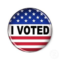 I voted today.  Thank you to all who served and died to allow our freedom to vote.
