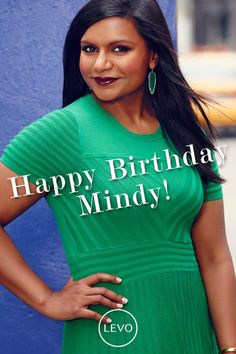 Happy Birthday Mindy Kaling! #themindyproject