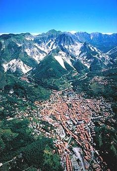 Carrara, Italy....where my grandfather's family came from