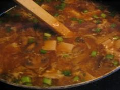 Hot & Sour Soup - perfect for when you have a cold!
