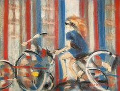 """Saatchi Art Artist Olga Melnichenko; Drawing, """"Amsterdam"""" #art"""
