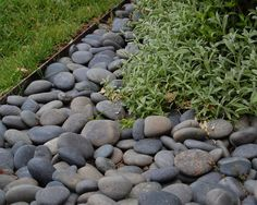 Lawn Edging Design, Pictures, Remodel, Decor and Ideas - Modern Metal Landscape Edging, Metal Edging, Lawn Edging, Garden Edging, Hillside Landscaping, Landscaping Images, Landscaping With Rocks, Front Yard Landscaping, Landscaping Edging