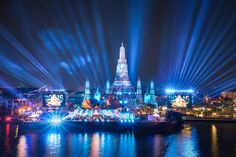 Wat Arun First time countdown Bangkok 2016 by Impossi[A]ble