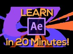 (1) LEARN AFTER EFFECTS IN 20 MINUTES! - Tutorial for beginners - YouTube