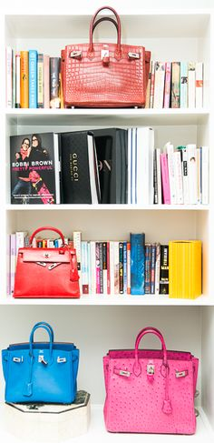 Books and Birkins. www.thecoveteur.com/tina_craig