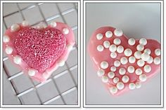 These petit fours for Valentines Day are so much fun and   so easy to make.     This is one of those recipes that is perfect for the kids  ...