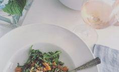 Sweet Potato & Arugula Salad