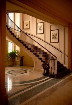 Main staircase at pebble hill plantation, thomasville, ga. Grand Staircase, House Design, Moorish Design, Beautiful Places To Live, House Architecture Design, House Styles, Build Your House, Ranch Style Homes, Stairs Design