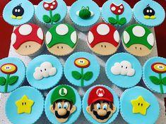 Batu'nun Super Mario temasına devam... #supermariocupcakes #supermario Super Mario Cupcakes, Nun, Desserts, Tailgate Desserts, Deserts, Postres, Dessert, Plated Desserts