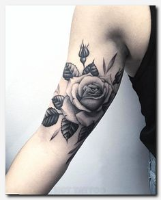 Black And Grey Roses On Inner Arm Tattoos Tattoos Flower