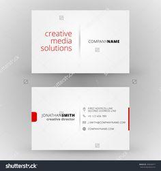 Business Card Vector Background - 200640317 : Shutterstock