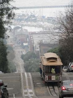 San Francisco, Californië: streetcar named desired. San Francisco City, San Francisco Travel, San Francisco California, California Dreamin', California Camping, Sacramento, The Places Youll Go, Places To Visit, Nova Orleans