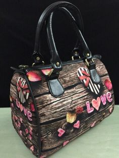 Old wooden chest ur in in love with Digital Print Hand bag for only 1049/-