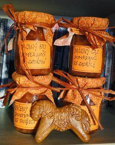 kudy-kam: Pečený čaj s pomerančem a skořicí Jam Recipes, Quick Recipes, Healthy Recipes, Yams, Cocktail Drinks, Pickles, Smoothies, Herbalism, Tea Pots